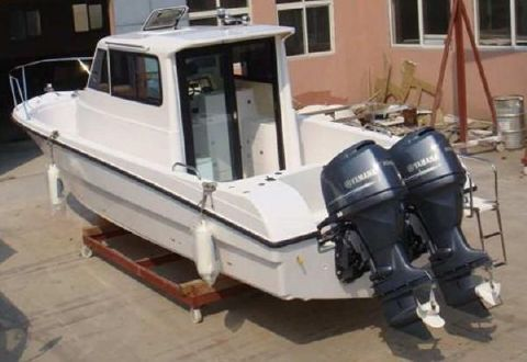 2016 Allmand Boat Model 27ft Pilot Cabin