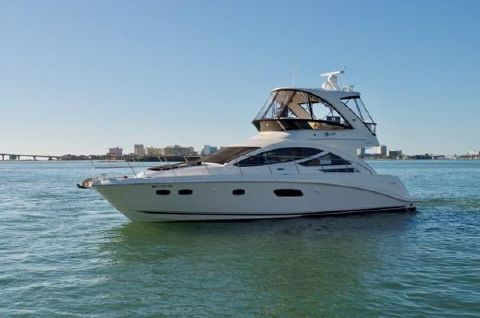 2012 Sea Ray 450 Sedan Bridge Profile
