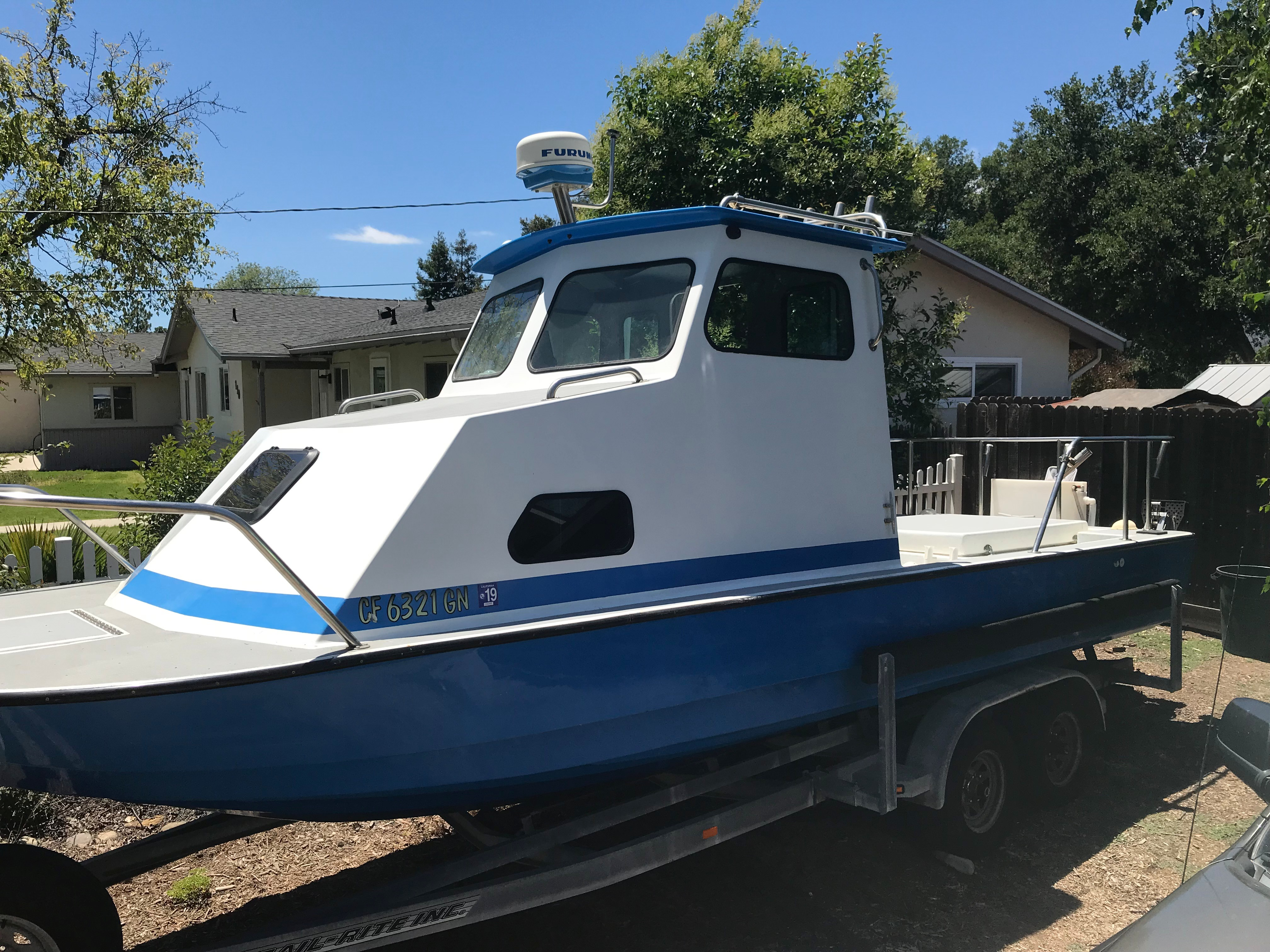 Used Fishing Boats For Sale >> Used 1979 Radon Urchin Oak View Al 93022 Boat Trader