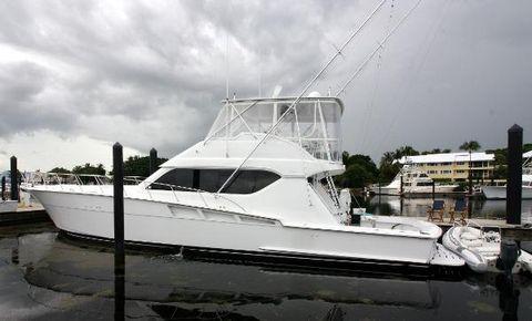 2000 Hatteras 60 Convertible Port Profile