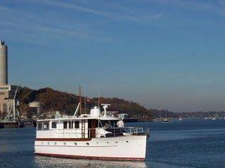 1946 Trumpy Houseboat
