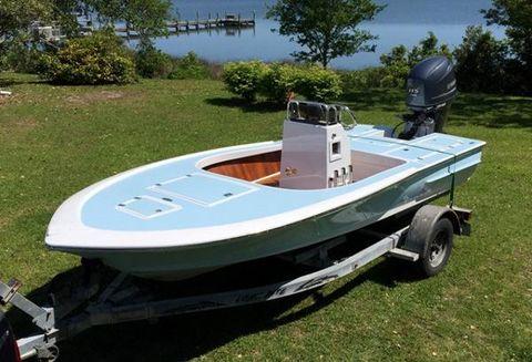 2015 Custom 16 Redfish Flats Boat