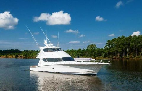 2007 Hatteras 64 Convertible Profile