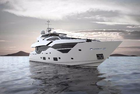 2017 Sunseeker 116 Yacht Manufacturer Provided Image: Sunseeker 116 Yacht