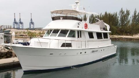 1986 Hatteras 72' Hatteras Motor Yacht LADY ELYSE