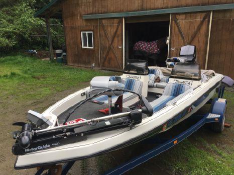 1993 Champion Boats Fish and Ski
