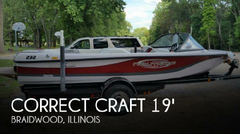 2002 Correct Craft Ski Nautique 196 2002 Correct Craft Ski Nautique 196 for sale in Braidwood, IL