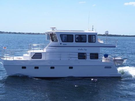 2014 Endeavour Catamaran Trawlercat 40 Pilot House