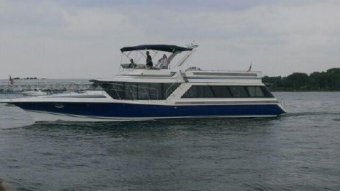 1989 Blue Water 59' Costal Cruiser