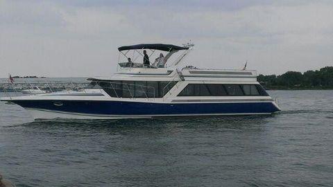 1989 Blue Water 59' Costal Cruiser