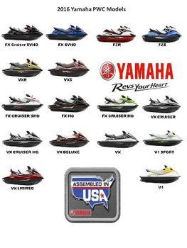 2016 Yamaha Waverunner