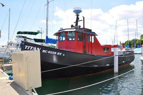 1987 Dave Matthews Marine 34 Tug