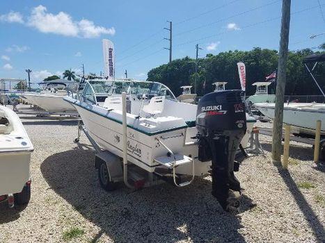 1996 Angler Boats 204 Walkaround