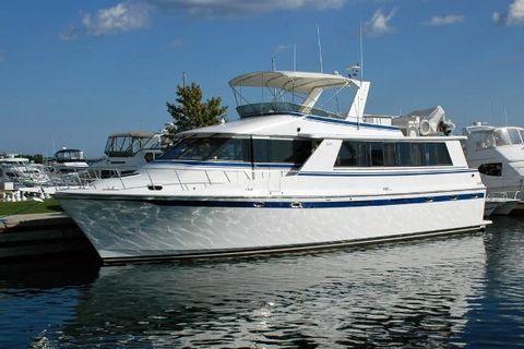 1988 Vantare 58 Flush Deck Motor Yacht Profile