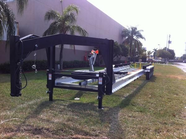 New 2014 Real X Trailers - Gooseneck Boat Trailer Rr451x ...