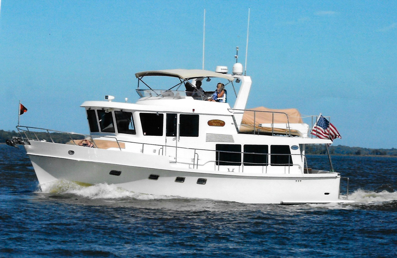 2006 Symbol Pilothouse 45