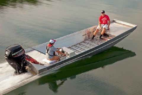 2017 Lowe Roughneck 2060 Shallow Water