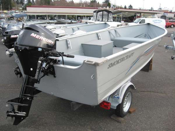 New and used boats for sale on for Smoker craft alaskan 15