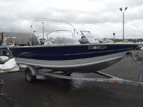2004 Smoker-craft 17 Osprey DLX