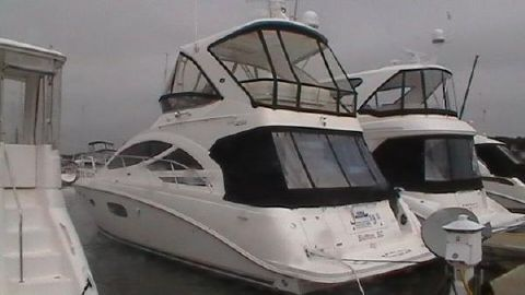2012 Sea Ray 450 Sedan Bridge