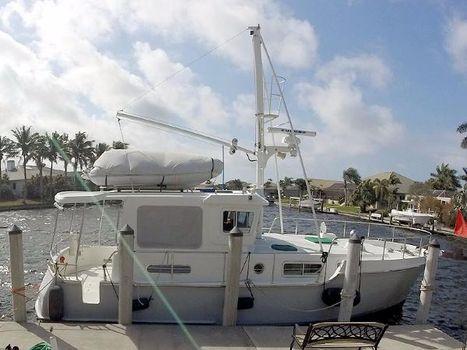 2001 Nordhavn 35 Coastal Pilot Starboard Profile