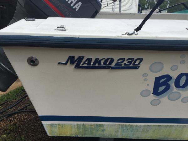 1991 mako 230 walkaround