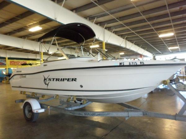 2006 seaswirl striper 1851 dual console i o 19 foot 2006 for Used boat motors panama city fl