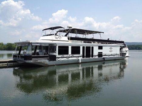 1998 Sumerset Houseboats 16x75 Port Profile