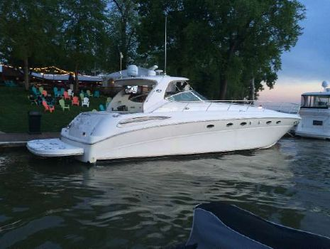 2002 Sea Ray 510 SUNDANCER 54Ft. 3196 CAT'S, BOW THRUSTER, TNT LIFT
