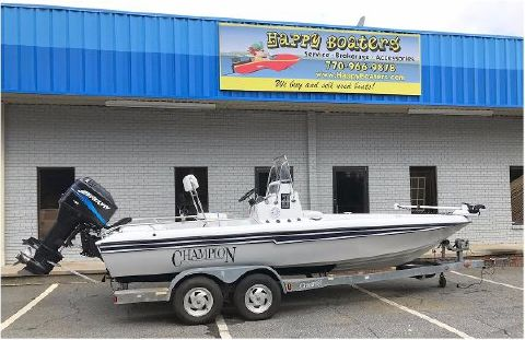 2001 Champion Boats 21 Bay Champ
