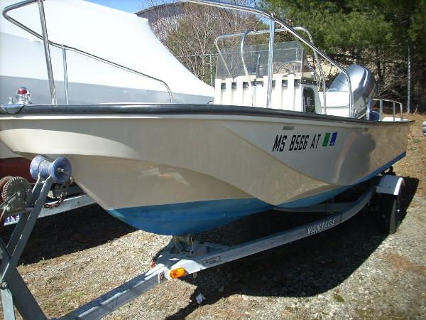Check out this 1994 BOSTON WHALER 17 Montauk on Boattrader com