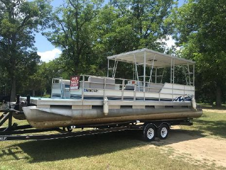 1986 Custom Pontoon