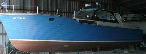 1959 Chris Craft Sea Skiff Semi Enclosed Cruiser