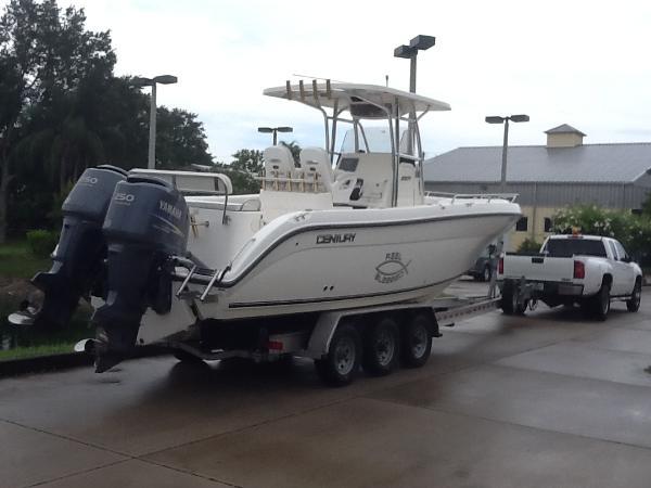 2008 century 2901 cc 29 foot 2008 century motor boat in for Century motors of south florida