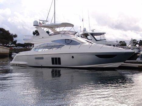 2012 Azimut 53 Flybridge Starboard Profile