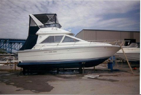 1988 Sea Ray 345 Sedan Bridge