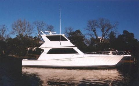 1997 Viking 58 Enclosed Bridge Photo 1