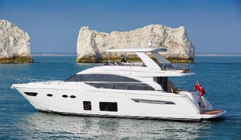 2018 Princess 68 Motor Yacht Port Side