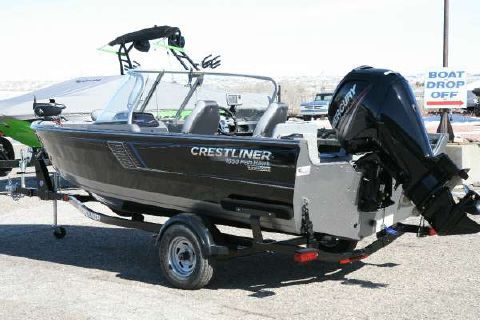 2017 Crestliner 1650 Fish Hawk WT