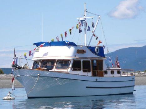 1978 Puget Trawler 40 Tri Cabin