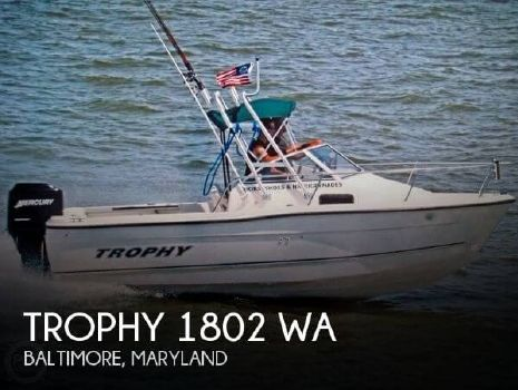 2006 Trophy 1802 Walkaround 2006 Trophy 1802 WA for sale in Baltimore, MD