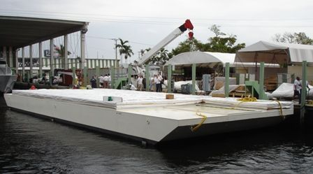 Houseboats For Sale: Barge Houseboats For Sale