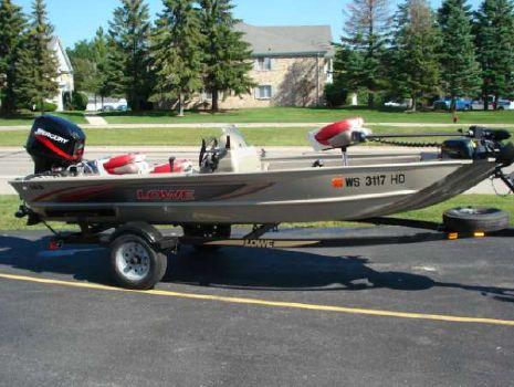 2005 Lowe 165 Fish N Ski