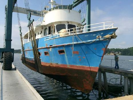 1972 Barbour Boat Works 56 Trawler