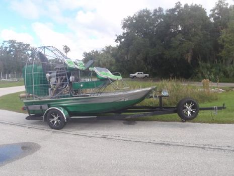 2015 Jimmy White 14 X 8 Airboat