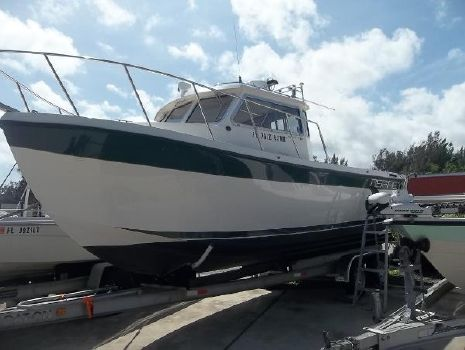 1999 Osprey Pilothouse 24 Fisherman