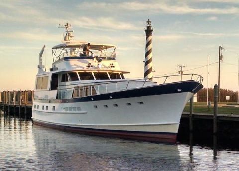 1978 Burger Flybridge Motoryacht Profile