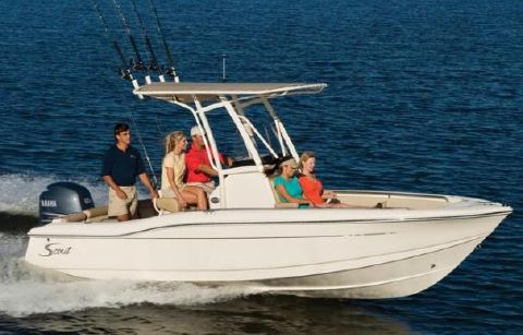 2016 Scout 210 Sportfish Manufacturer Provided Image