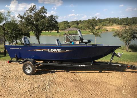 2016 Lowe 160 Fishing Machine
