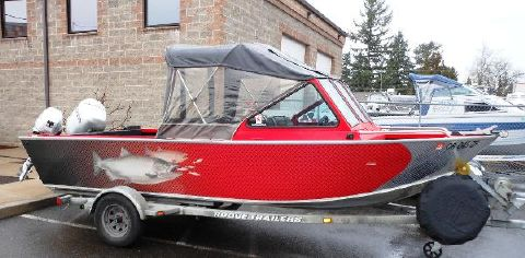 1999 Alumaweld Intruder Outboard 18